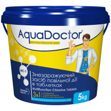 AquaDoctor MC-T хлор 3-в-1, 1 кг /20гр