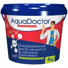AquaDoctor C-60T хлор-шок в таблетках, 0,3 кг