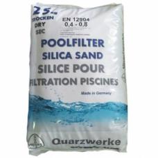 Песок Quarzwerke  0,4-0,8